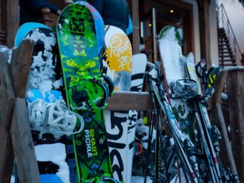snowboard accessories category